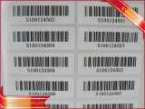 단화와 의복을%s 인쇄된 접착성 Barcode 스티커
