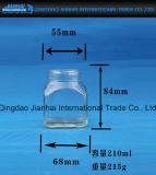 Quadratische Form-Flaschen-Glasware-Glasstau-Glas