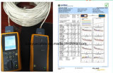 Double câble extérieur d'acoustique de connecteur de câble de transmission de câble de caractéristiques de câble de jupe/ordinateur d'UTP Cat5e