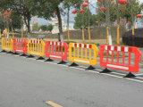 Barrera temporal larga de la cerca del tráfico de 2 contadores