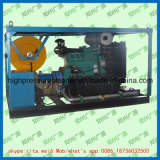 Máquina de alta presión de la limpieza de la alcantarilla del jet de agua de desagüe de la arandela diesel del tubo
