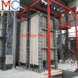 Rodillo cerámico de la alúmina para el horno industrial