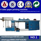 Sticker Stack 4 couleurs machine d'impression flexographique Prix Bonne Qualité
