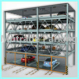 Verticaux hydrauliques et glissent le système sec de stationnement d'histoire multi