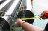 Großer Durchmesser-Edelstahl-Keil-Draht-Bildschirme für Meerwasser