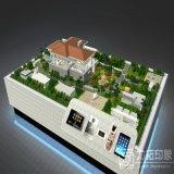 Landhaus-vorbildliche Reklameanzeige, Prozess produzierend