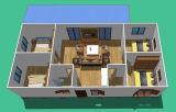 بني [غود-لووكينغ] سريعة يصنع منزل