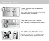 Bewegliche Verdampfungsluft-Innenkühlvorrichtung mit Fernsteuerungs