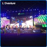 Visualización de LED a todo color de interior del alquiler para los acontecimientos