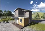 Casa modular pré-fabricada da construção de aço