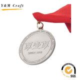 Verschiedene rote Farbband-Goldmedaille kundenspezifisches Ym1185
