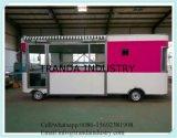 De Aanhangwagen van de Verkoop van de Straat van het Staal van de Karren van de Verkoop van de Straat van de EEG van Ce ISO UL
