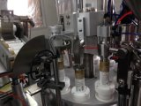 Relleno del tubo y máquina automáticos del lacre con la mecanización