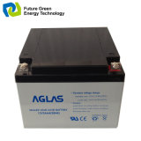 batterie d'accumulateurs d'acide de plomb d'énergie solaire d'UPS du cycle 12V24ah profond