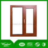 Het houten Openslaand raam van het Aluminium van de Druk voor Koude Bestand