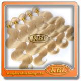 Золотистые бразильские волосы девственницы Remy