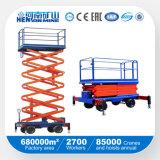 Plataforma de elevação de tesoura automotriz / hidráulica / equipamento de elevação