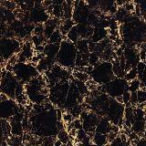 azulejos de suelo Polished negros estupendos de la porcelana de los 60X60cm (E36801A)