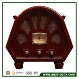 Radio en bois faite sur commande de cru avec Bluetooth
