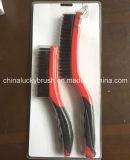 2piece Double Colour Handle Mini Wire Set Brush (YY-519)