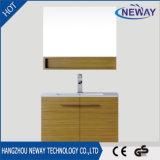Nuova mobilia della stanza da bagno di trucco della melammina con lo specchio