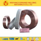 поставщик Китая провода дуговой сварки 3.2mm EL12 Em12 погруженный в воду Eh14 с OEM ISO9001