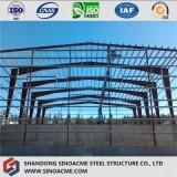 移動可能な倉庫のための前に設計された鉄骨構造