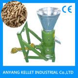 Venta caliente granulador de la máquina de la alimentación de 1 t/h para hacer la pelotilla de la alimentación