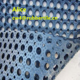 屋外のゴム製フロアーリングまたは排水のゴム製マットかスリップ防止床のマット