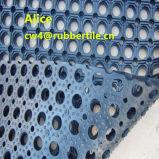 Im Freien Gummibodenbelag/Entwässerung-Gummimatte/Gleitschutzfußboden-Matte