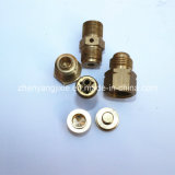 Willkommenes Custom Different Kinds von Brass CNC Machined Brass Parts