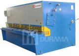 QC11y 16X3200mmせん断し、打抜き機油圧ギロチンの鋼板