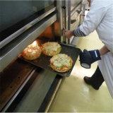 Horno industrial de la cubierta de la hornada del pan del acero inoxidable del horno de la hornada
