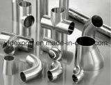 Instalaciones de tuberías soldadas sanitarias Polished del acero inoxidable