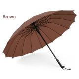 Зонтики гольфа изготовленный на заказ печати выдвиженческие прямые автоматические большие