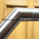 Falegname a livello balaustra adatta del corrimano dell'acciaio inossidabile del gomito del tubo da 135 gradi