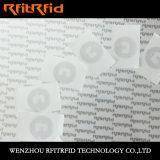 De Elektronisch Markering van de Ets RFID van het Aluminium van HF NFC/Etiket /Sticker
