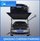Гидровлический 2 автомобиля столба/автоматической легкой система стоянкы автомобилей