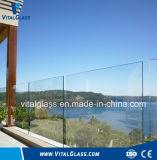 Tempered 박판으로 만들어진 유리 또는 모방하는 유리제 명확한 부유물에 의하여 계산되는 유리 건축