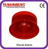 Сигнал тревоги высокого качества обычный визуально, красное тело (442-003)