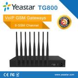 8 карточка GSM SIM держит 4 входной VoIP GSM/CDMA Splitter антенны In1