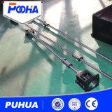Máquina suave/inoxidável/de alumínio do perfurador do CNC da chapa de aço com molde