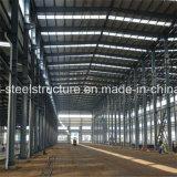 Costruzione chiara dell'acciaio di Warehhouse saldata disegno economico