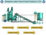 Completare la riga automatica della pallina di legno di combustibile della segatura della biomassa/la linea di produzione macchina della pallina