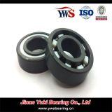 Cuscinetto a sfere profondo della scanalatura del cuscinetto a temperatura elevata Si3n4 pieno & Zro2 608 di ceramica di resistenza