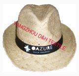 Kundenspezifischer preiswerter Formmens-Cowboy-Großhandelsstrohhut Dh-Lh7211