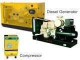 Générateur diesel pour le compresseur 50kw 63kVA 50Hz de vis