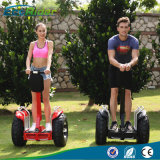 2 Wheel Brushless 4000 Watt Auto-balanceamento Scooter 1266wh 72V Double Battery Golf Scooter elétrico