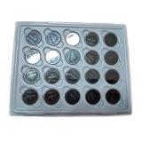 Batteria delle cellule del tasto del metallo del litio Cr2032