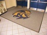 Die kundenspezifische Förderung, die Druck/bekanntmacht, druckte Firmenzeichen-Fußboden-Teppich-Eingangs-Willkommens-Tür-Matten